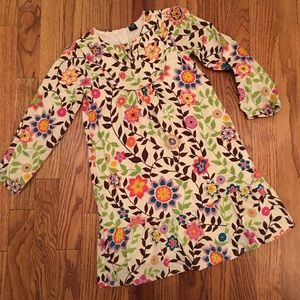Baby Gap Dress Size 5 Fall Floral 🍁